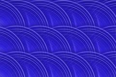 De CirkelAchtergrond van koningsblauwen Stock Foto's