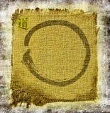 De cirkelachtergrond van Zen Stock Afbeeldingen