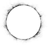De cirkelinkt bevlekt achtergrond Royalty-vrije Stock Afbeelding