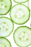 De cirkels van de komkommer Royalty-vrije Stock Foto