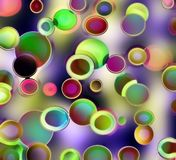 De cirkels van Retr Stock Afbeelding
