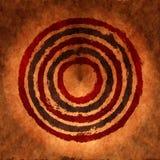 De cirkelsachtergrond van Grunge stock illustratie