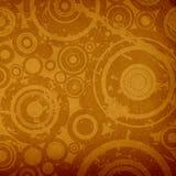 De cirkelssamenstelling van Grunge stock illustratie
