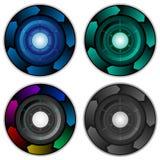De Cirkelvectoren van de Infographic Collectieve Presentatie Stock Afbeelding