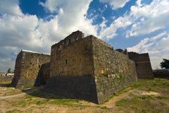 De citadel in Bosra stock fotografie