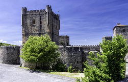 De citadel, Braganca, Portugal royalty-vrije stock afbeeldingen