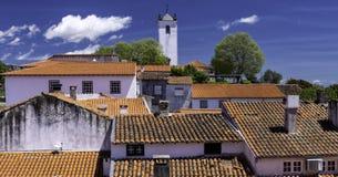 De citadel, Braganca, Portugal stock fotografie