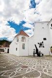 De citadel in Brasov Stock Afbeeldingen