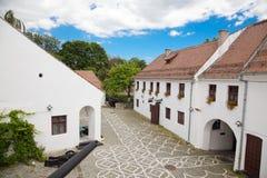 De citadel in Brasov Royalty-vrije Stock Afbeeldingen