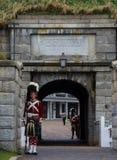 De Citadel in Halifax royalty-vrije stock afbeelding