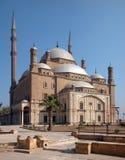 De citadel Saladin van Kaïro, Egypte Stock Foto