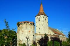 De citadel van Aiud in Transsylvanië Stock Foto