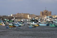 De Citadel van Alexandrië royalty-vrije stock fotografie