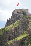 De citadel van Ankara - Turkije Royalty-vrije Stock Afbeelding
