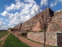 De Citadel van Bitche stock afbeeldingen