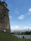 De citadel van de Heuvel, Brasov, Roemenië Stock Afbeelding