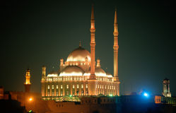 De citadel van Kaïro Stock Afbeeldingen