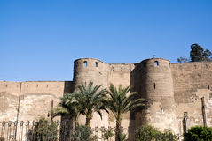 De Citadel van Saladin van Kaïro Egypte Stock Fotografie