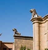 De Citadel van Saladin van Kaïro Egypte Stock Afbeeldingen