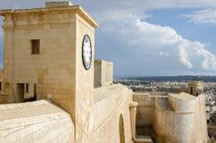 De citadel van Victoria in Gozo Royalty-vrije Stock Foto