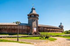 De Citadel & x28; Fortress& x29; van Baturyn de Oekraïne Stock Afbeeldingen