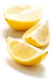 De citroen van de besnoeiing royalty-vrije stock afbeelding