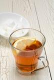 De citroen van de thee royalty-vrije stock afbeelding