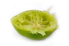 De citroen wordt gedrukt Royalty-vrije Stock Fotografie