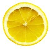 De citroenplak van de close-up Stock Fotografie