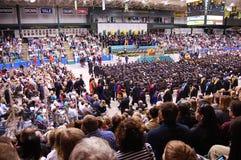 De Clarkson da universidade cerimónia 2010 de graduação Imagens de Stock