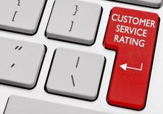 De classificatie van de klantendienst royalty-vrije stock afbeelding
