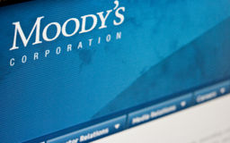 De classificaties van Moody's Royalty-vrije Stock Afbeeldingen