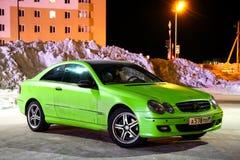 De clk-Klasse van Mercedes-Benz C209 Royalty-vrije Stock Foto's