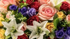 De close-up van bloemen Stock Afbeelding
