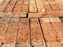 De close-up van bouwbakstenen Stock Afbeelding