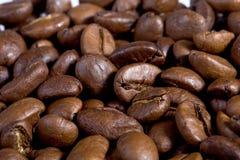 De close-up van Coffeebeans. Stock Afbeeldingen