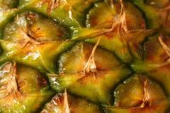 De close-up van de ananas Royalty-vrije Stock Afbeelding