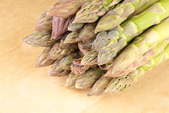De close-up van de asperge Royalty-vrije Stock Afbeeldingen