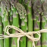 De close-up van de asperge Royalty-vrije Stock Foto's