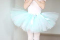 De close-up van de ballettutu