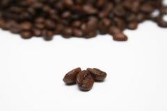 De Close-up van de Bonen van de koffie Stock Afbeelding