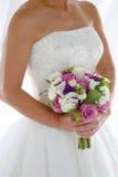 De Close-up van de bruid stock fotografie