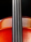 De close-up van de cello royalty-vrije stock afbeeldingen
