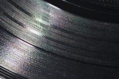 De close-up van de fonograafschijf Royalty-vrije Stock Foto