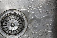 De Close-up van de Gootsteen van de keuken royalty-vrije stock fotografie