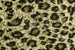 De close-up van de het patroontextuur van het luipaardleer Royalty-vrije Stock Foto's