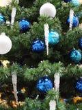De close-up van de kerstboom stock afbeelding