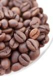De close-up van de koffie Stock Afbeeldingen