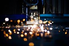 De close-up van de laser stock fotografie