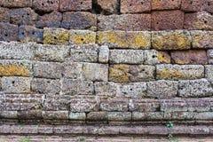 De close-up van de muursteen Royalty-vrije Stock Afbeelding